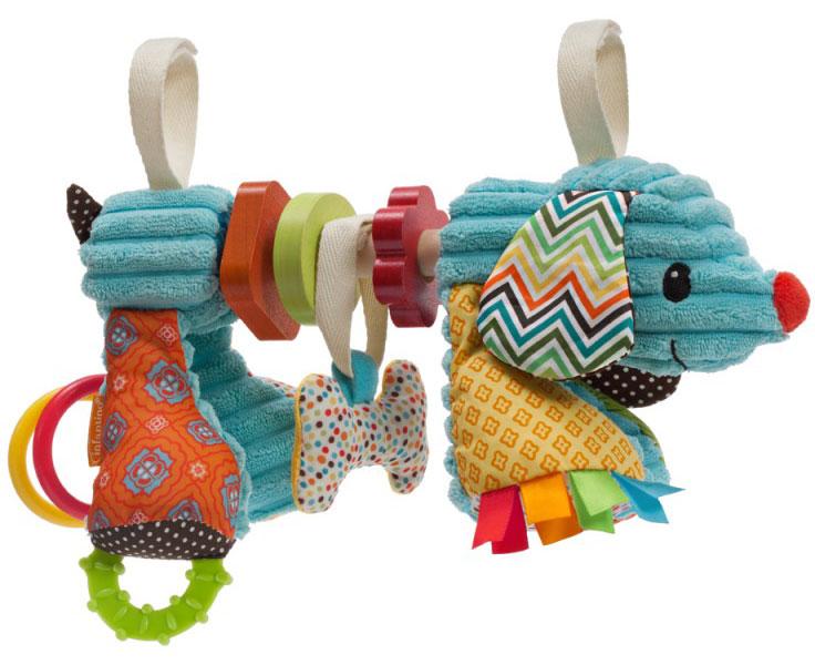 infantino go gaga car seat toy dog baby toddler child stuffed animal gift. Black Bedroom Furniture Sets. Home Design Ideas