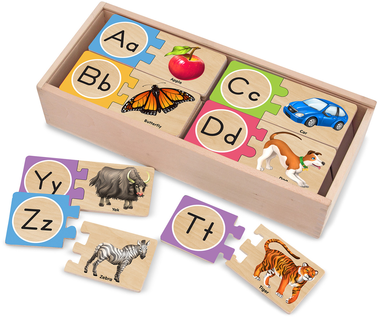 melissa doug self correcting letter puzzles baby toddler With melissa and doug self correcting letter puzzle