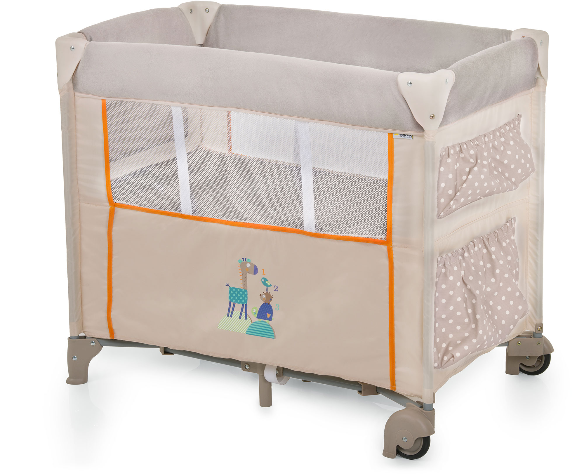 Hauck babynest dream n care animals bassinet travel cot for Beds n dreams