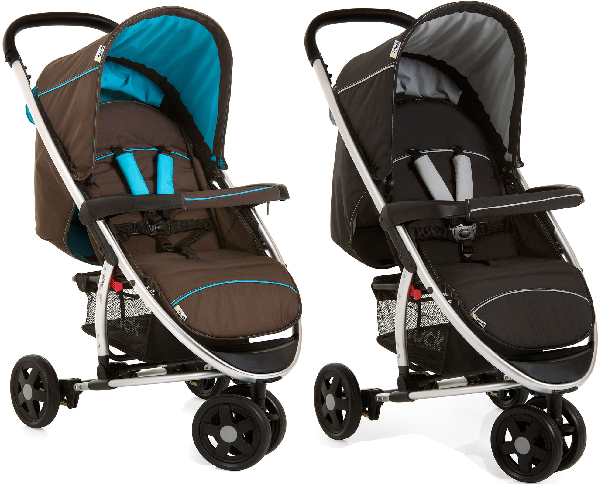 hauck miami 3 stroller 3 wheeler buggy jogger baby toddler. Black Bedroom Furniture Sets. Home Design Ideas