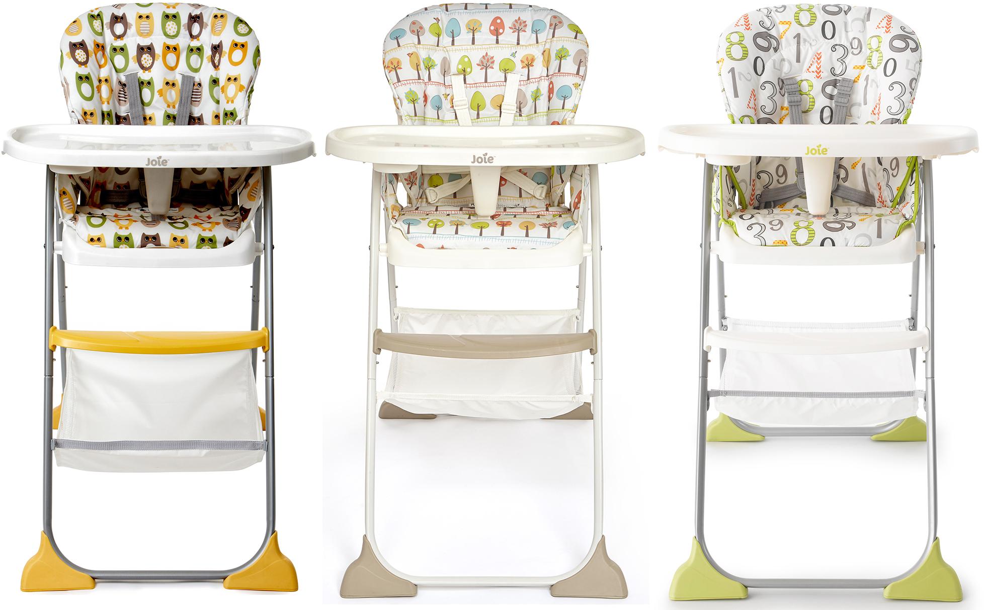 Joie Mimzy Snacker Highchair Lightweight Folding Toddler Baby
