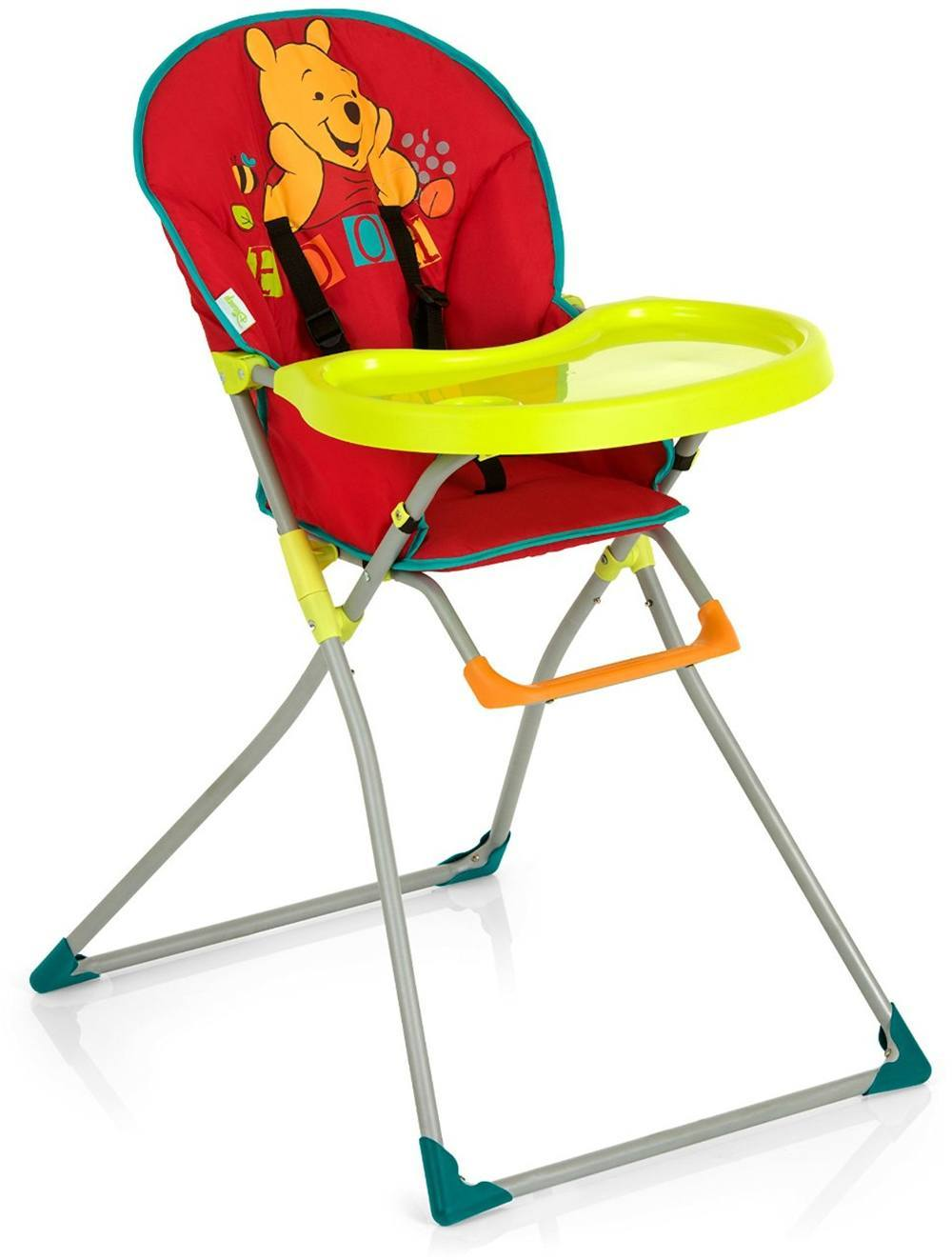 Details about hauck winnie the pooh mac baby high chair tray harness