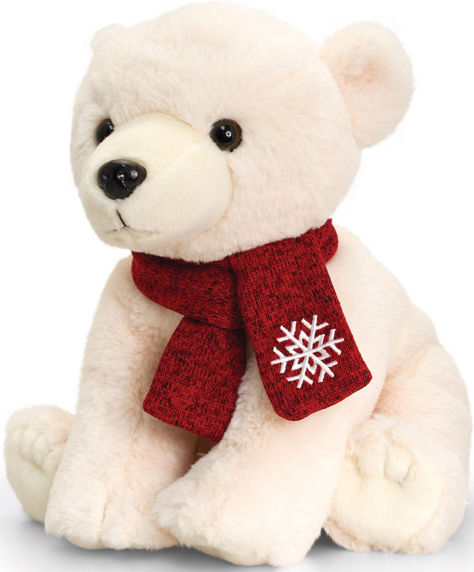 Polar Bear Toys : Keel toys polar bear with scarf cm soft toy plush