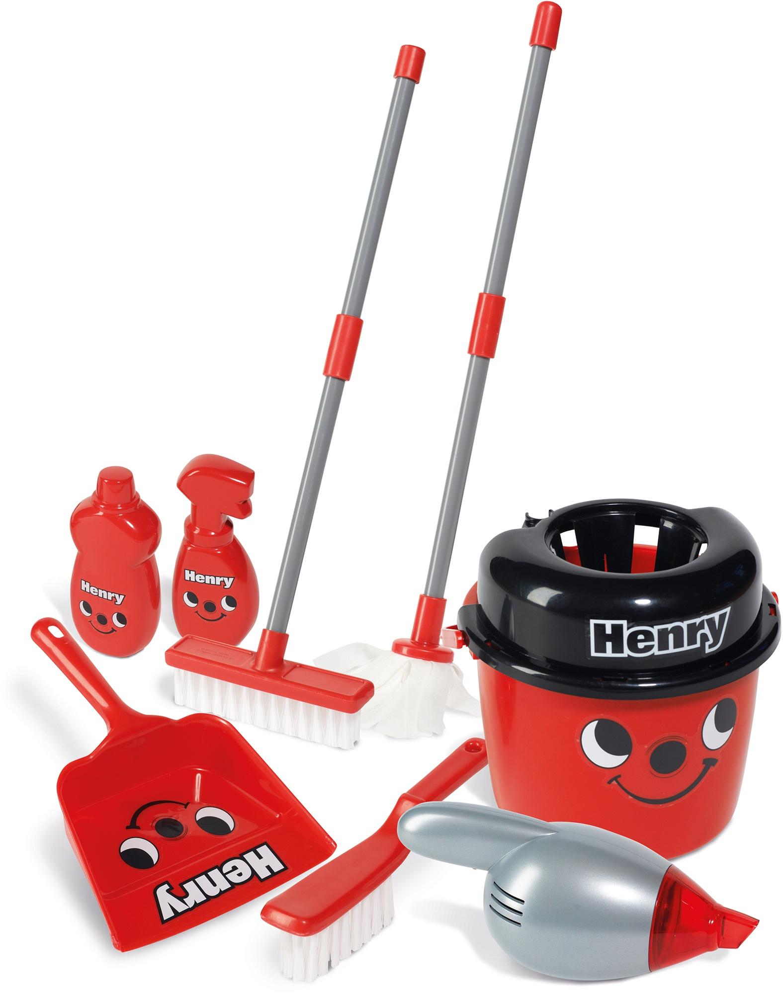 Casdon Henry Hoover Deluxe Cleaning Trolley Little Helper