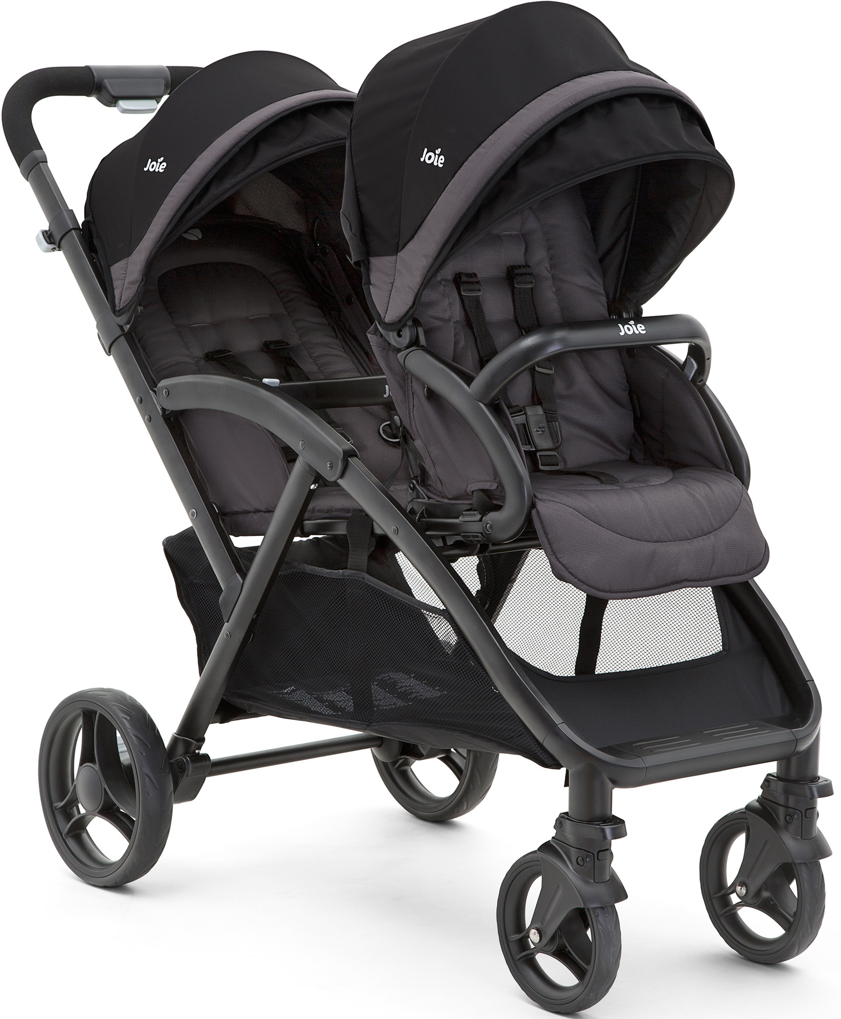 joie evalite duo twin poussette double buggy poussette b b bambin 0m bn ebay. Black Bedroom Furniture Sets. Home Design Ideas