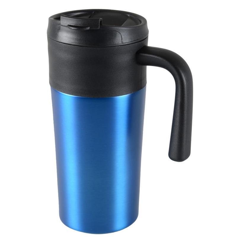 Tazza 450ml thermal mug coffee tea travel cup screw on lid - Fancy travel coffee mugs ...