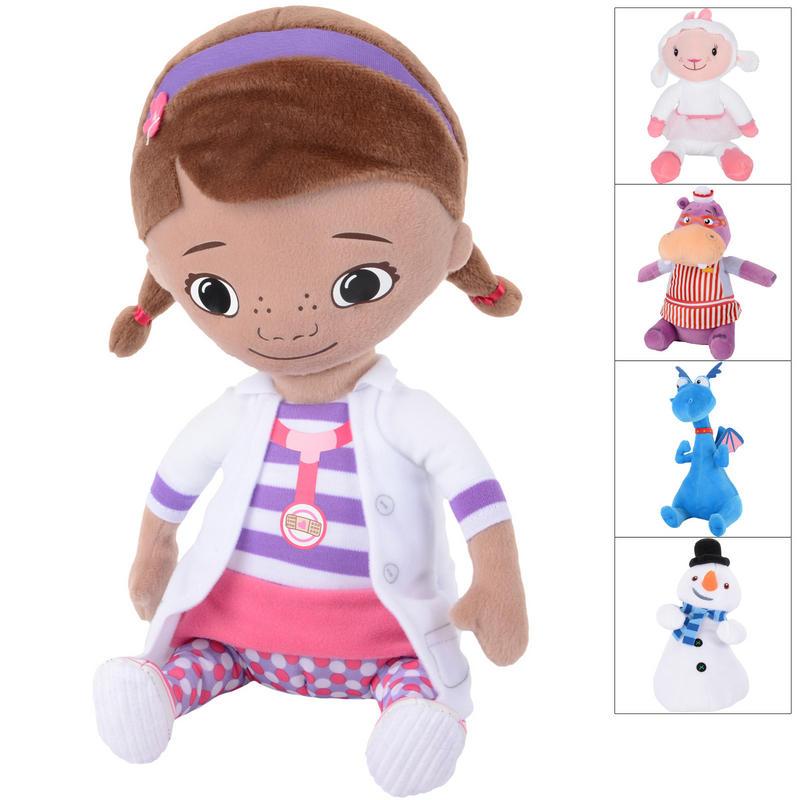 Doc Mcstuffins Toys : Plush doc mcstuffins characters toy age