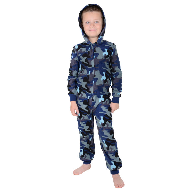 Pajamas & Robes Product Details Our boys' fleece pajama set is supersoft and just the right weight for cooler weather, with a simple colorblocked designed inspired by his favorite sports jersey.
