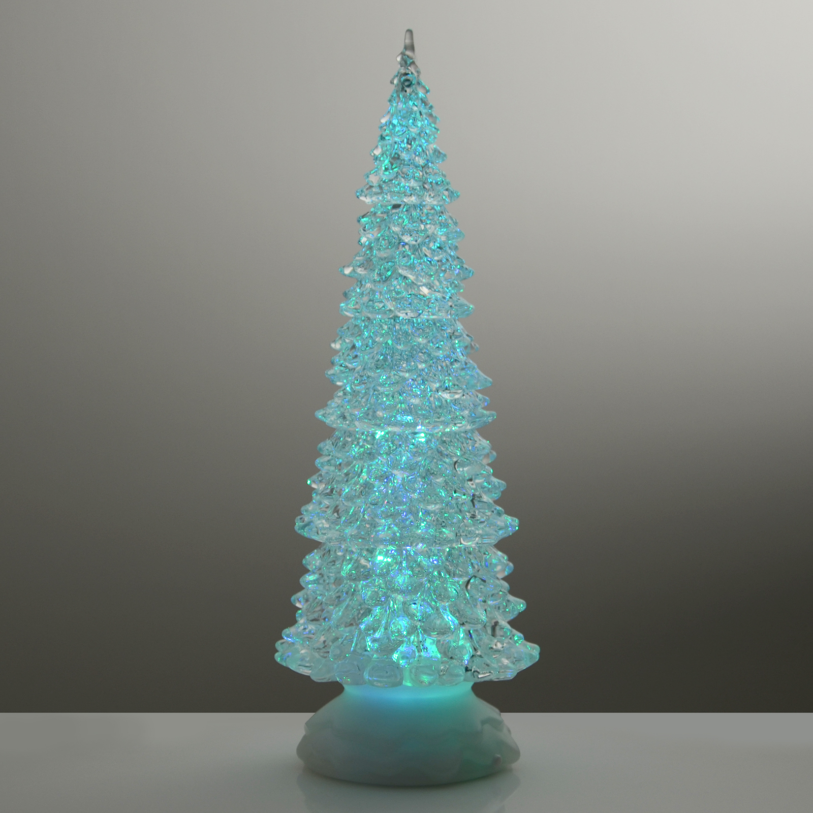 Xmas tree cm glitter water christmas ornament colour