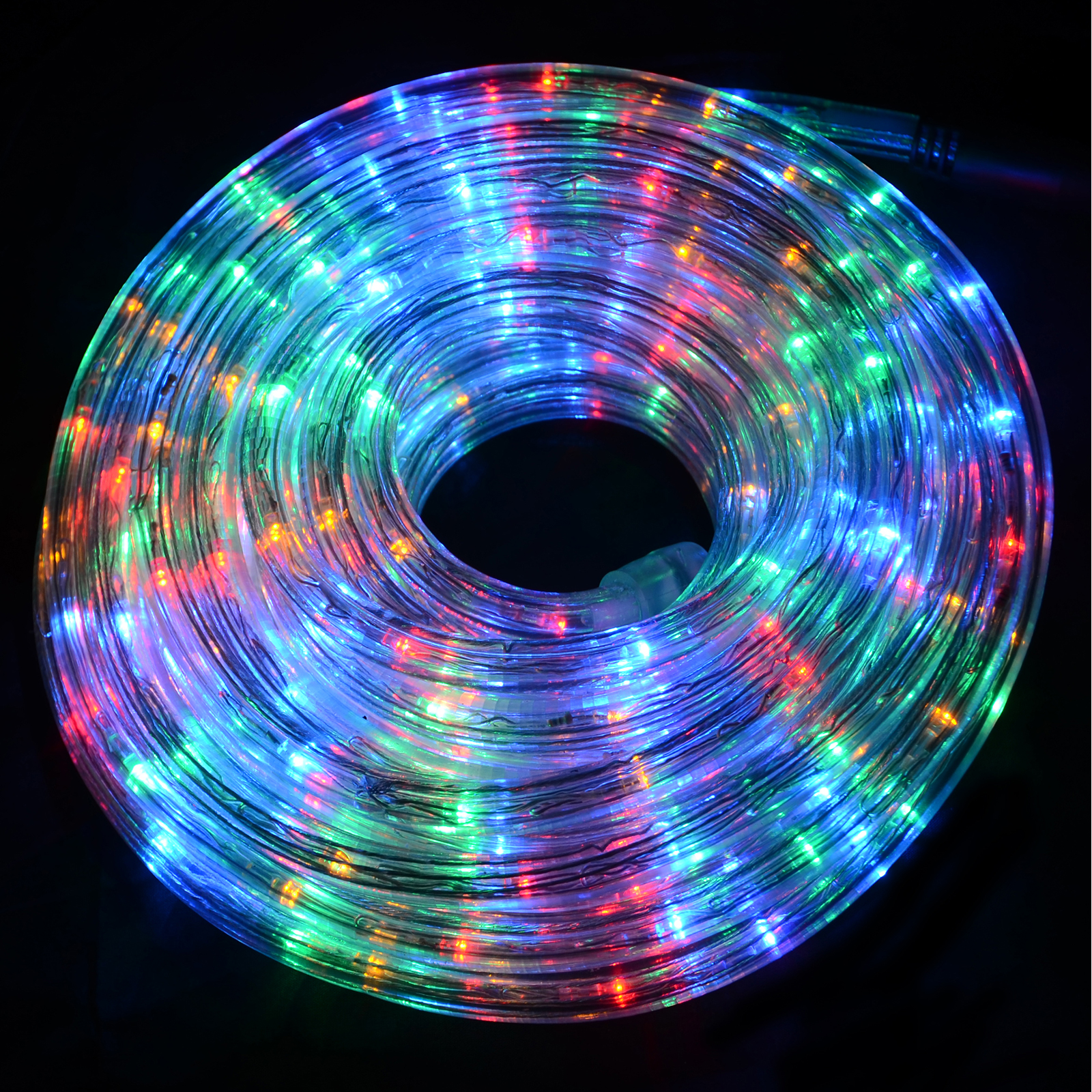 Super bright led chasing rope lights christmas xmas indoor for Decoration lumineuse