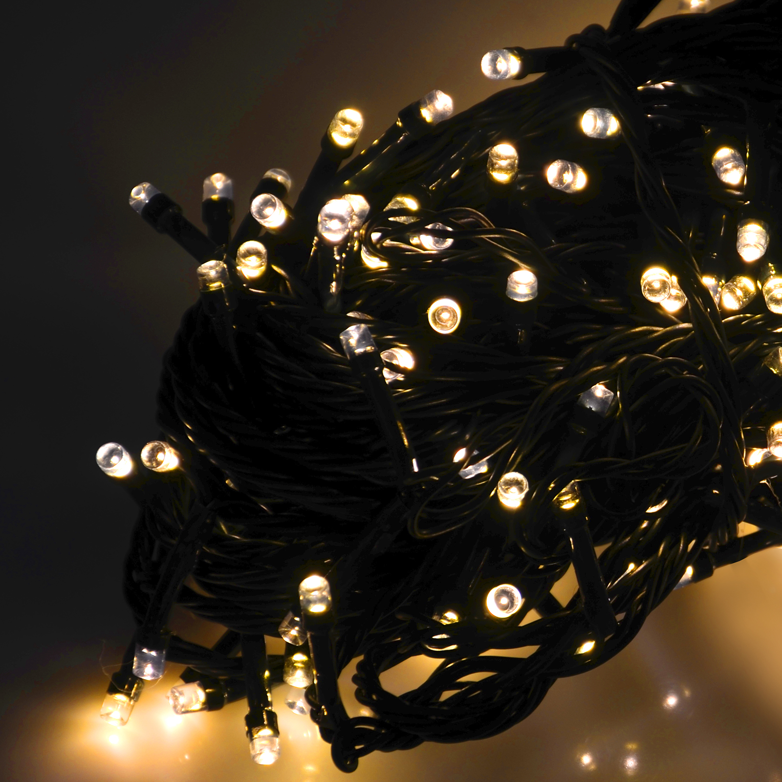 Christmas String Lights Indoor : String Of 200 Battery Operated Chasing LED Lights Chain Indoor Outdoor Christmas