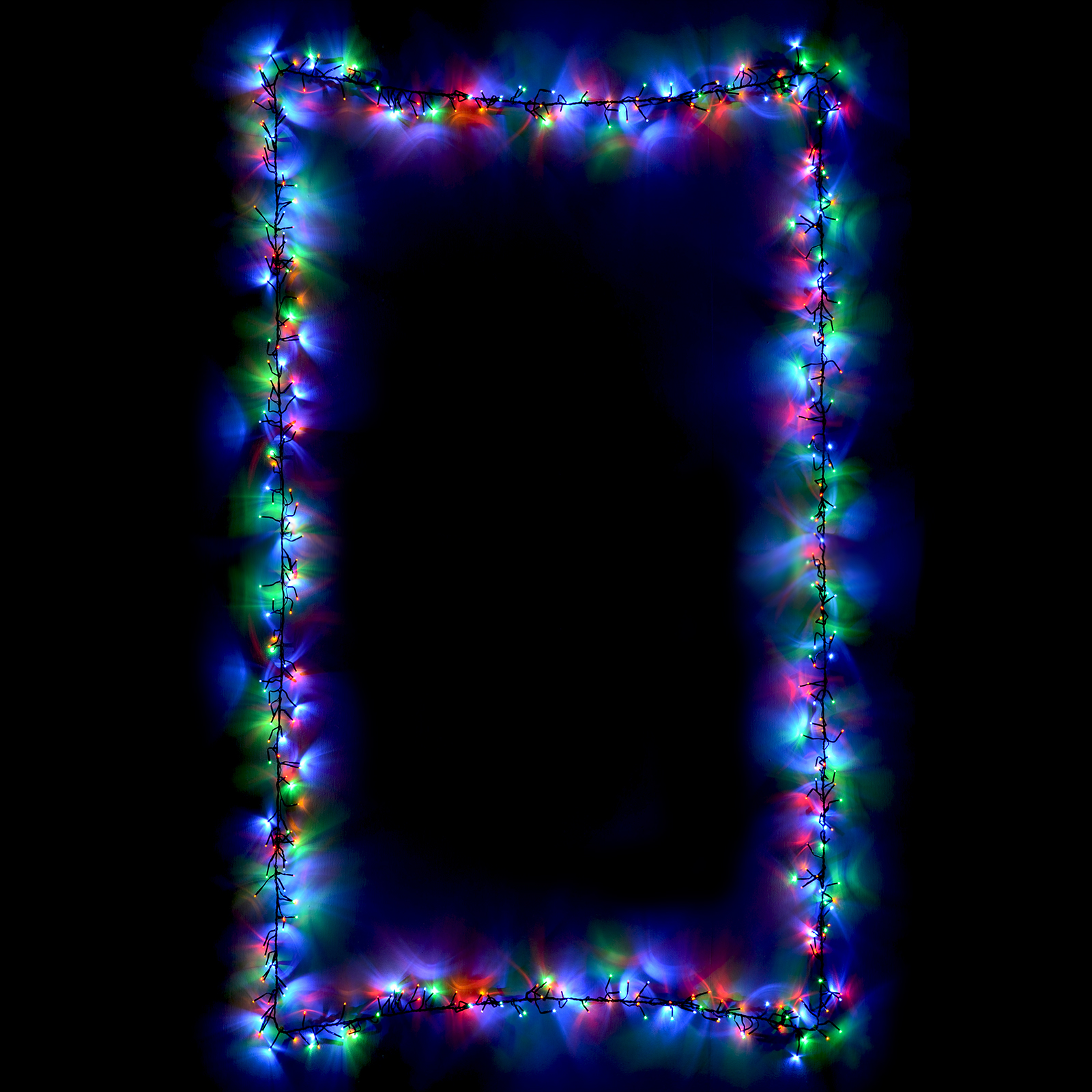 360 Chasing Cluster Lights Chain String Multi LEDs Christmas Xmas Indoor Outdoor eBay
