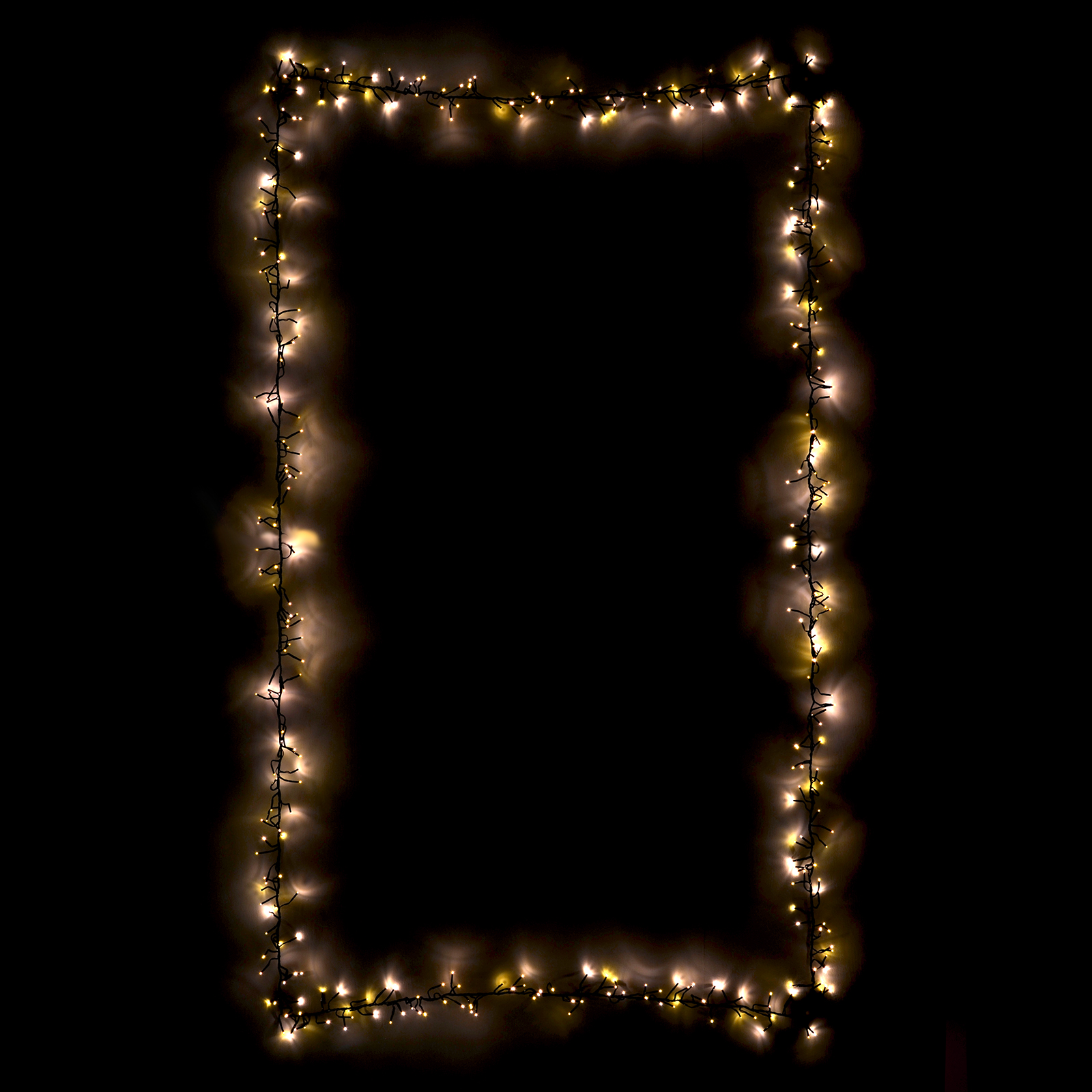 480 chasing cluster lights chain string warm white leds for White xmas lights