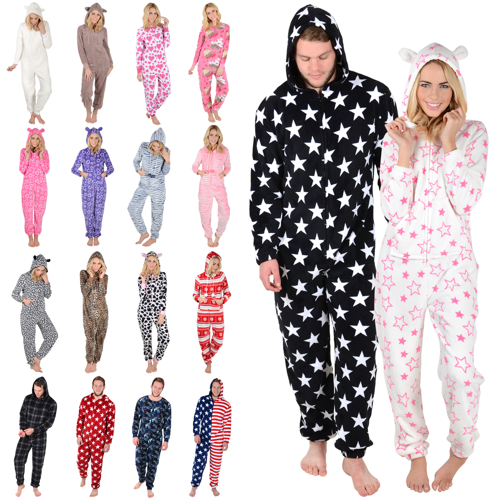 All in one pajamas adults