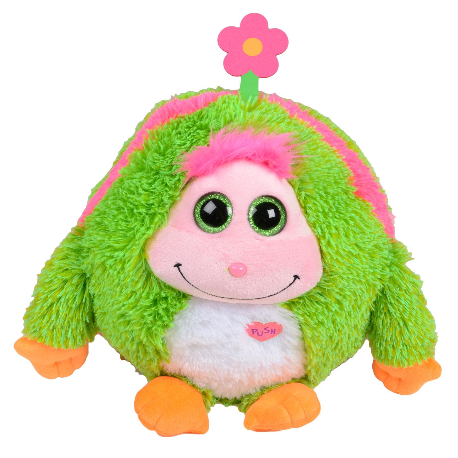 Soft Plush Toys : Childrens quot monstaz plush soft toy talking monsters