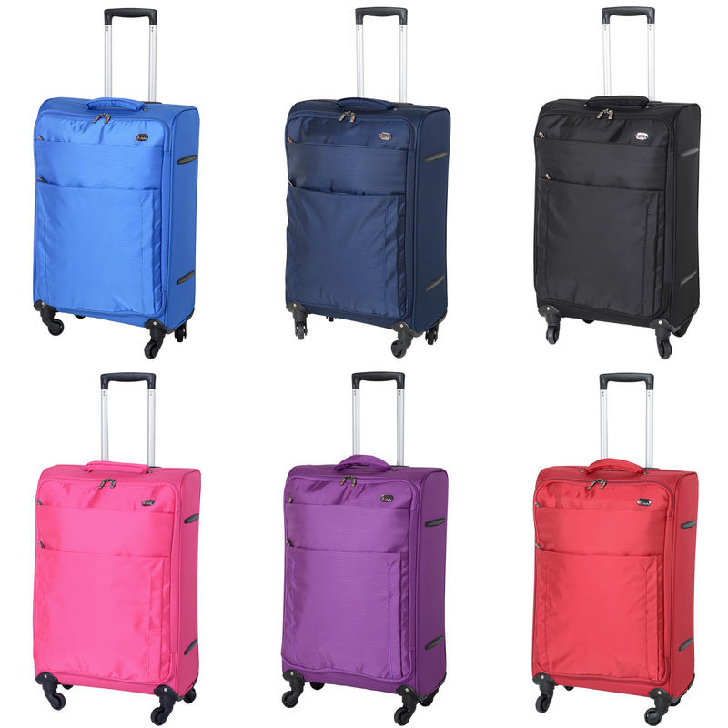 JAM Voyager suitcases are available in 6 different colours.