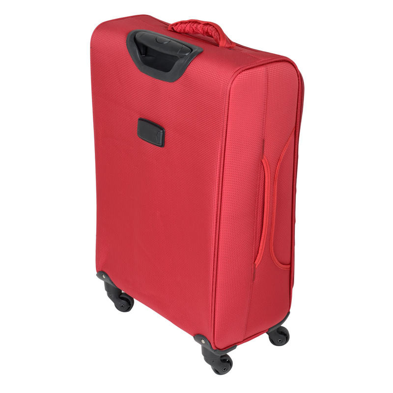 JAM Voyager suitcases features a telescopic trolley handle and integrated name tag.