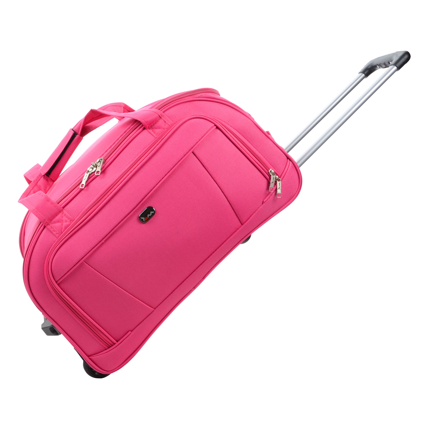 JAM Traveller Trolley Holdall Bag Pink- 3 Sizes Or Set Luggage ...