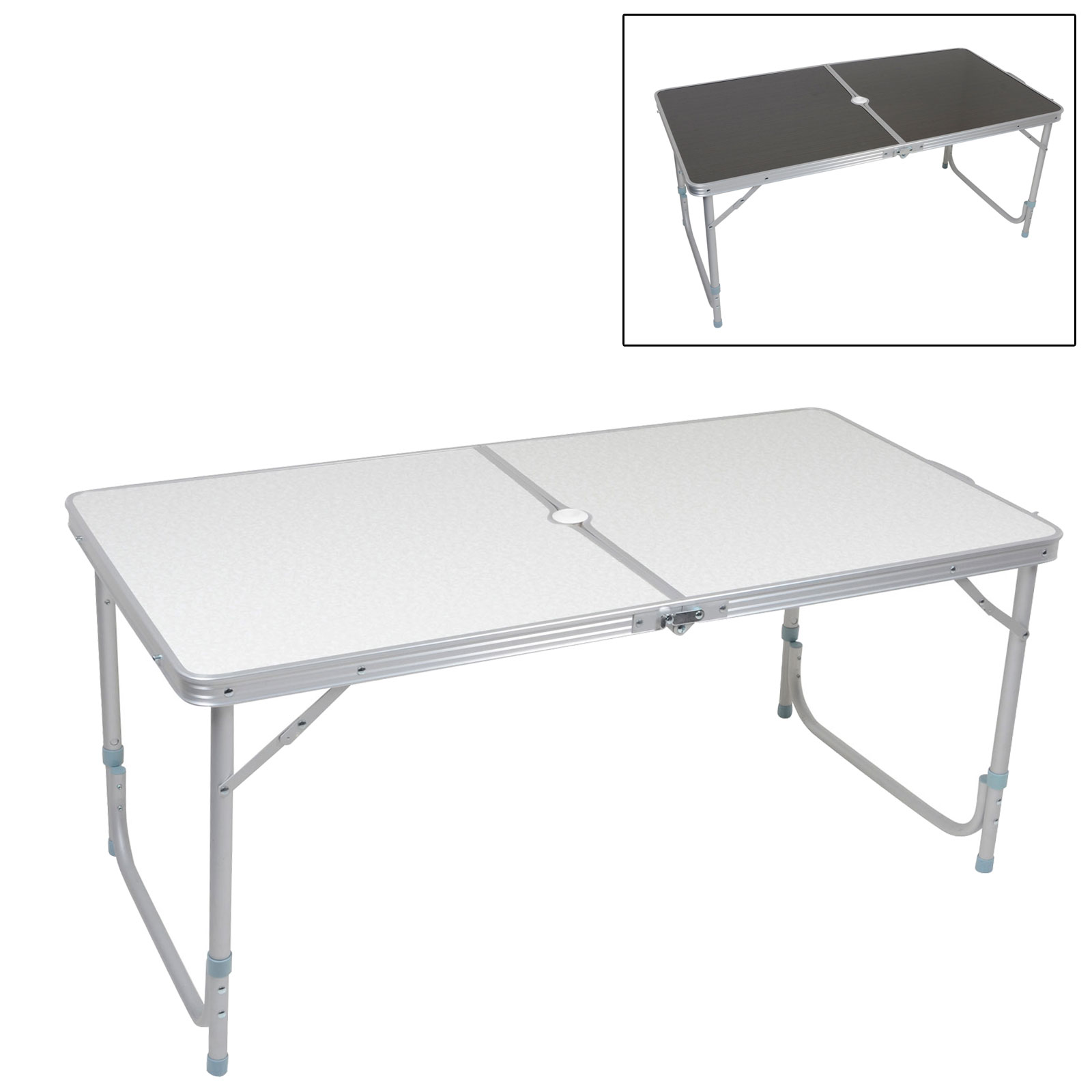 azuma folding portable camping outdoor dining table with