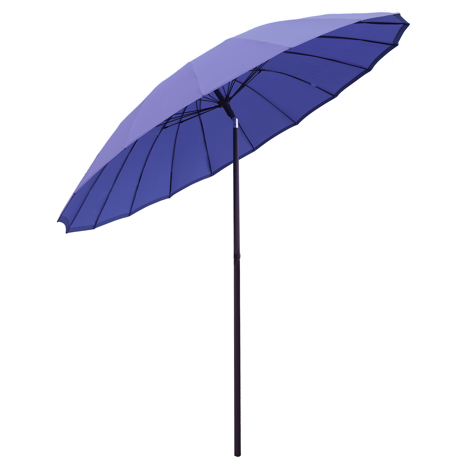 New tilting shanghai parasol umbrella sun shade for for Lawn chair with umbrella