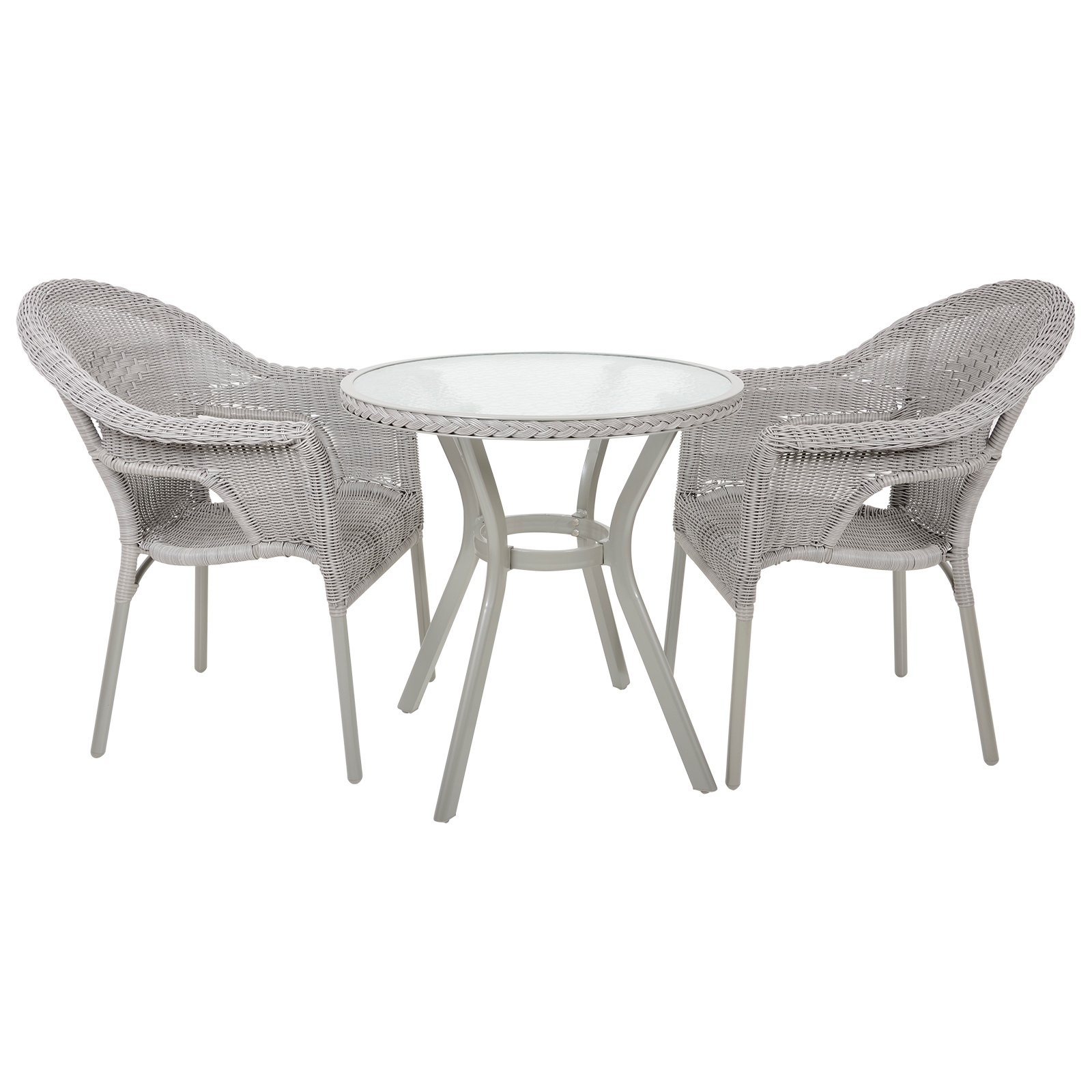 Havana rattan wicker bistro 2 seat garden patio furniture for 108 table seats how many