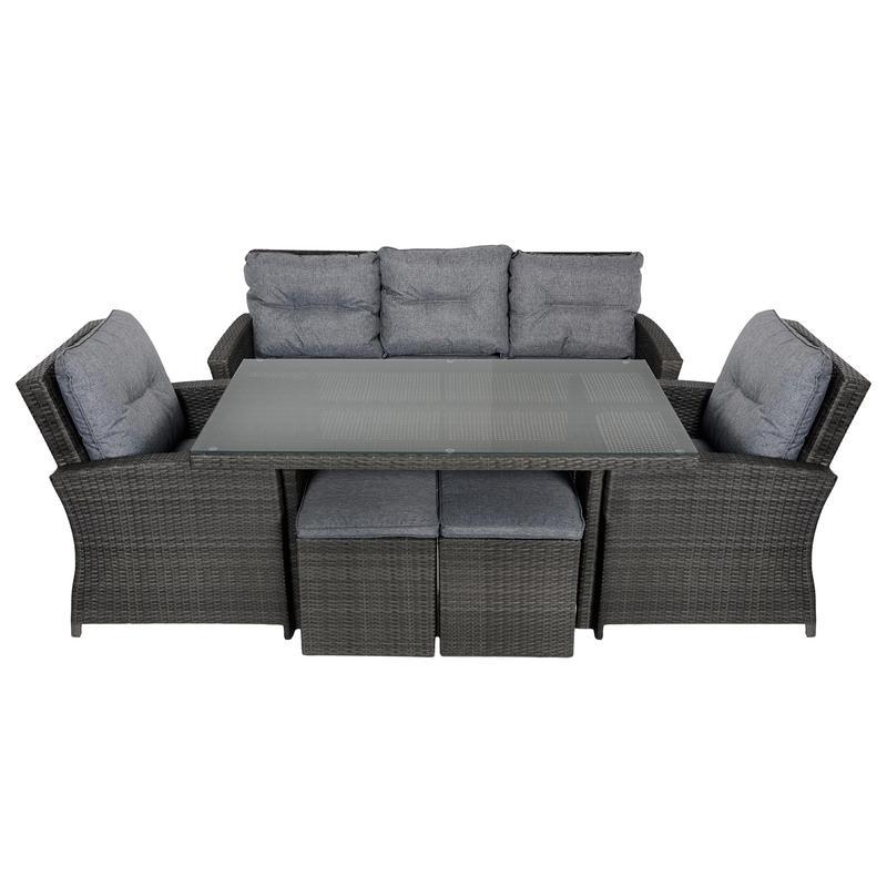 Jamaica Rattan Wicker 7 Seat Garden Furniture Table amp Sofa Set : lrgXS3385 21600 from www.xs-stock.co.uk size 800 x 800 jpeg 52kB