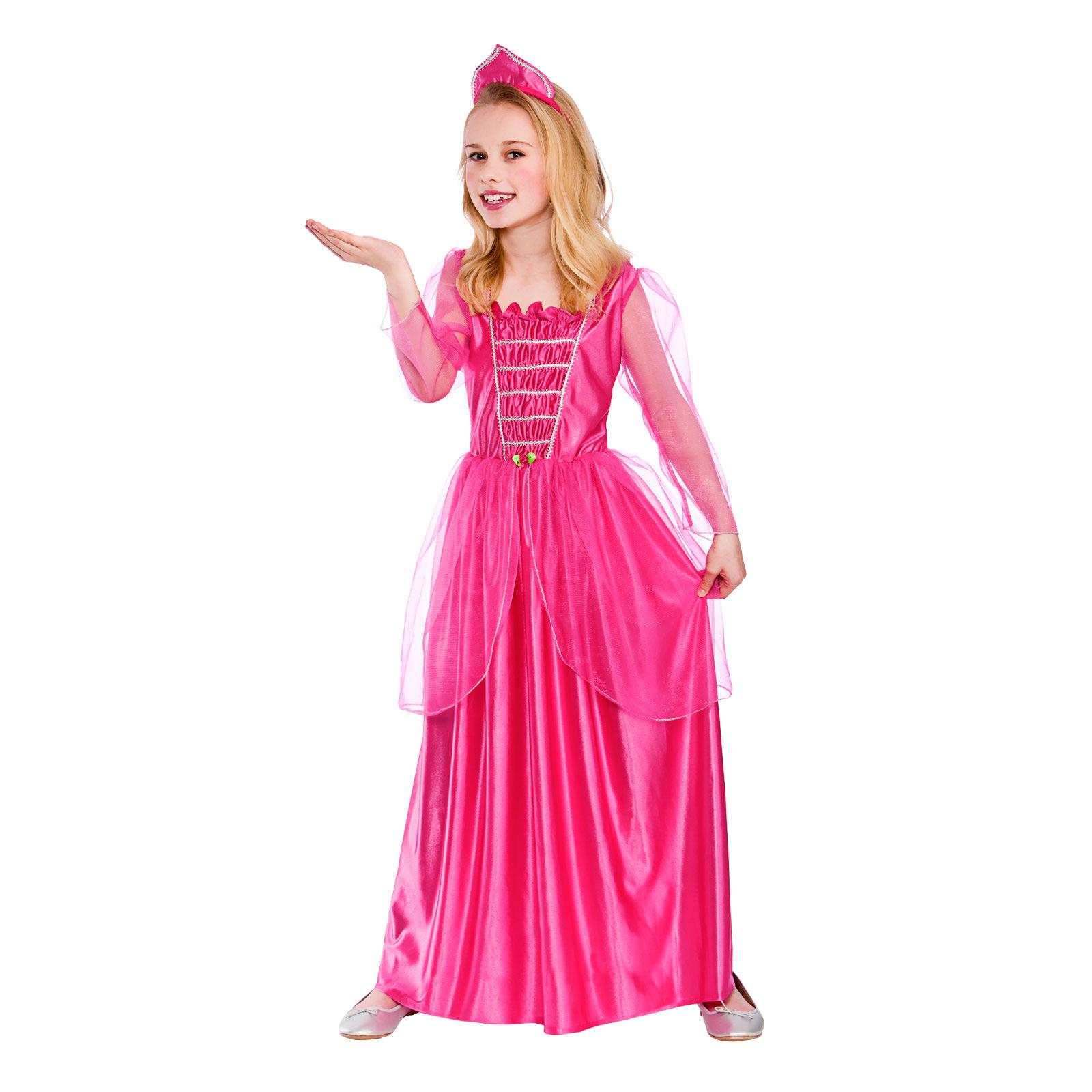 Halloween Girls Princess Fancy Dress Up Costume Outfits: Girls Darling Princess Fancy Dress Up Party Costume