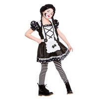 Childrens Broken Doll FAncy Dress Up Party Costume