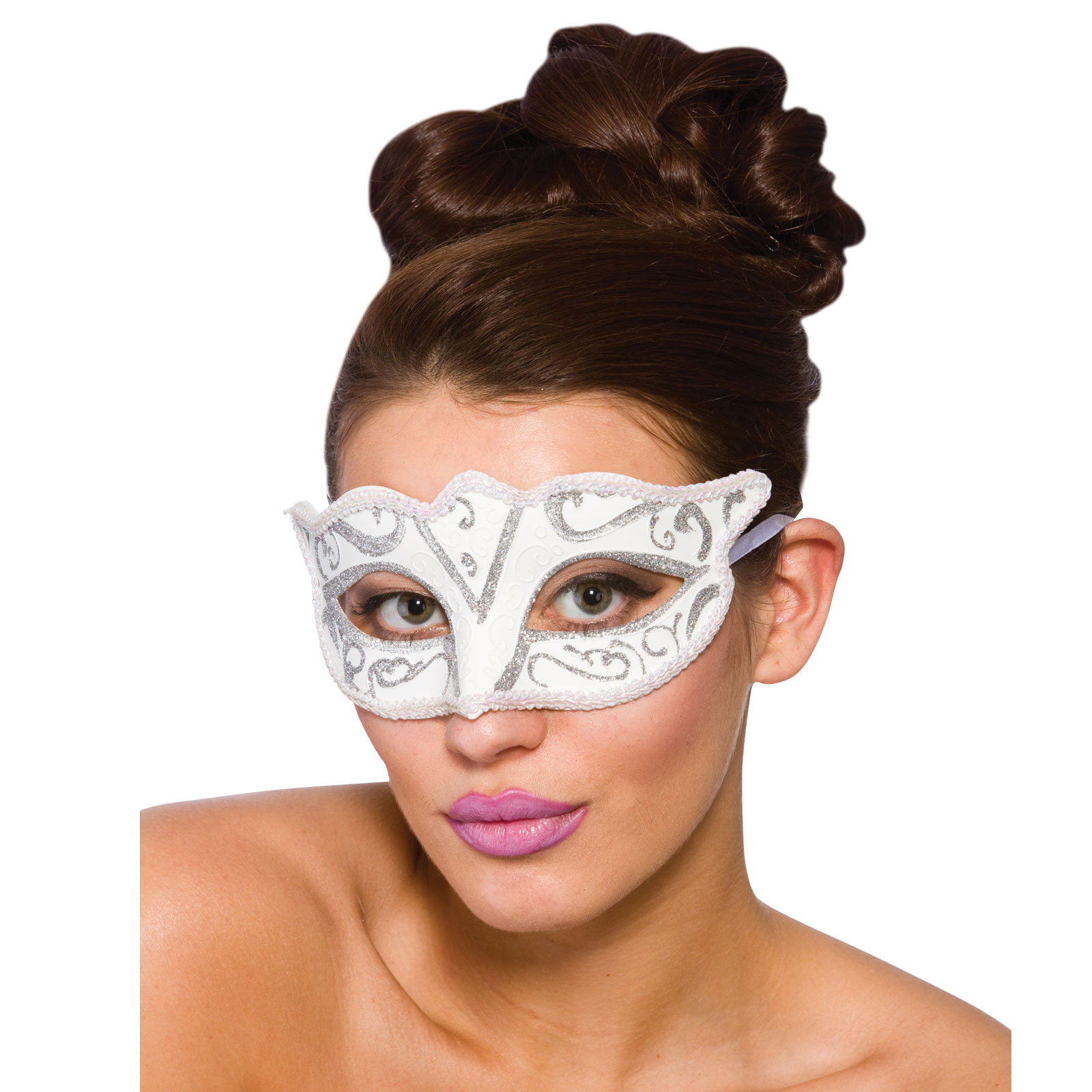 New Ladies Verona Eyemask Fancy Dress Accessory Carnival Festival ...