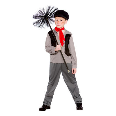Boys Victorian Policeman Fancy Dress Halloween Costume