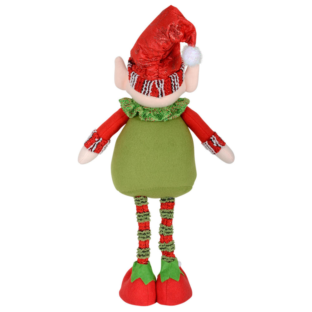 42cm Santas Little Helper Elf Boy Figure Standing