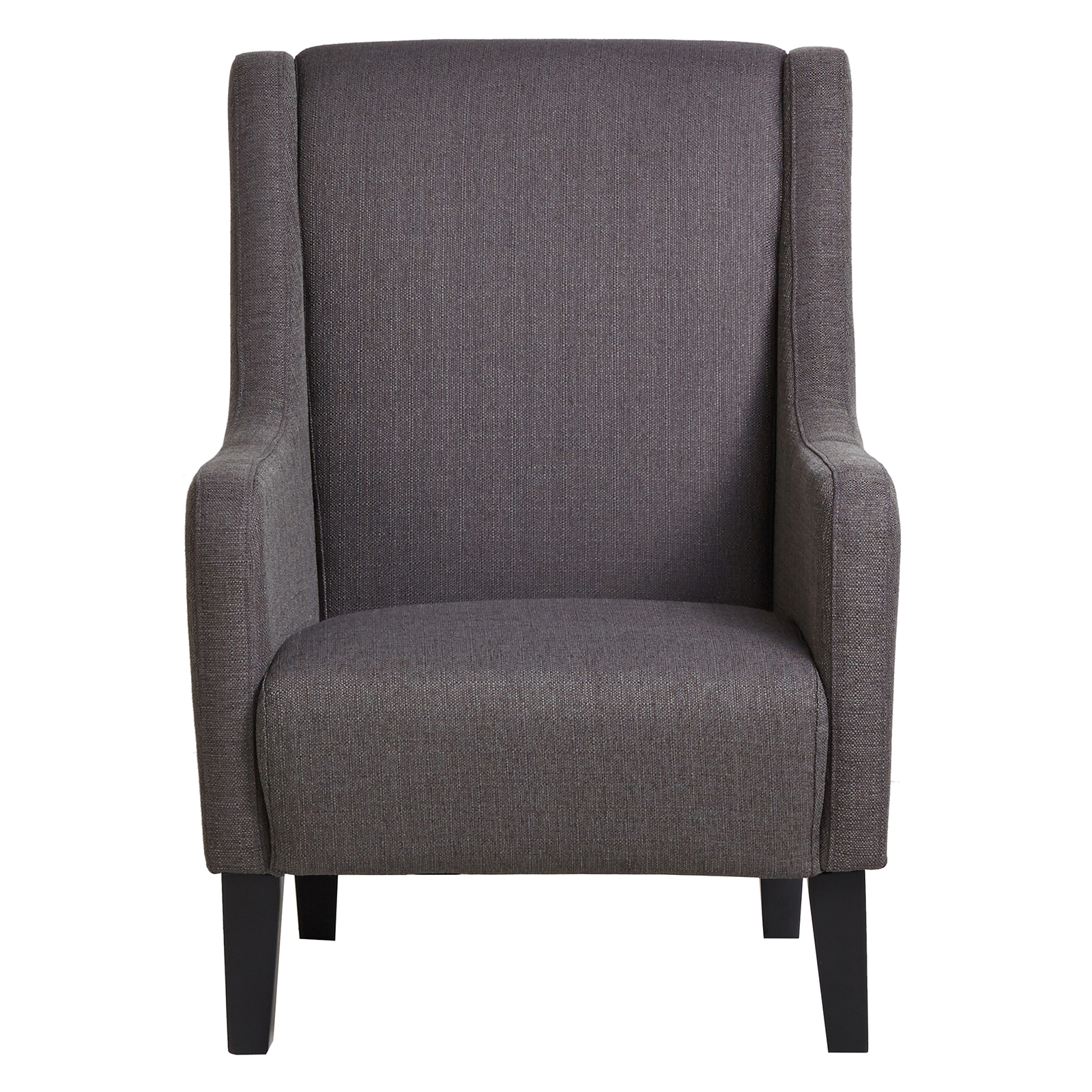 slate armchair 39 madison 39 design wooden frame fabric