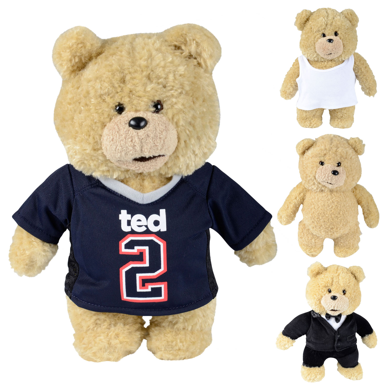 Toys For Ted : Childrens quot novelty ted soft toy tv film teddy bear