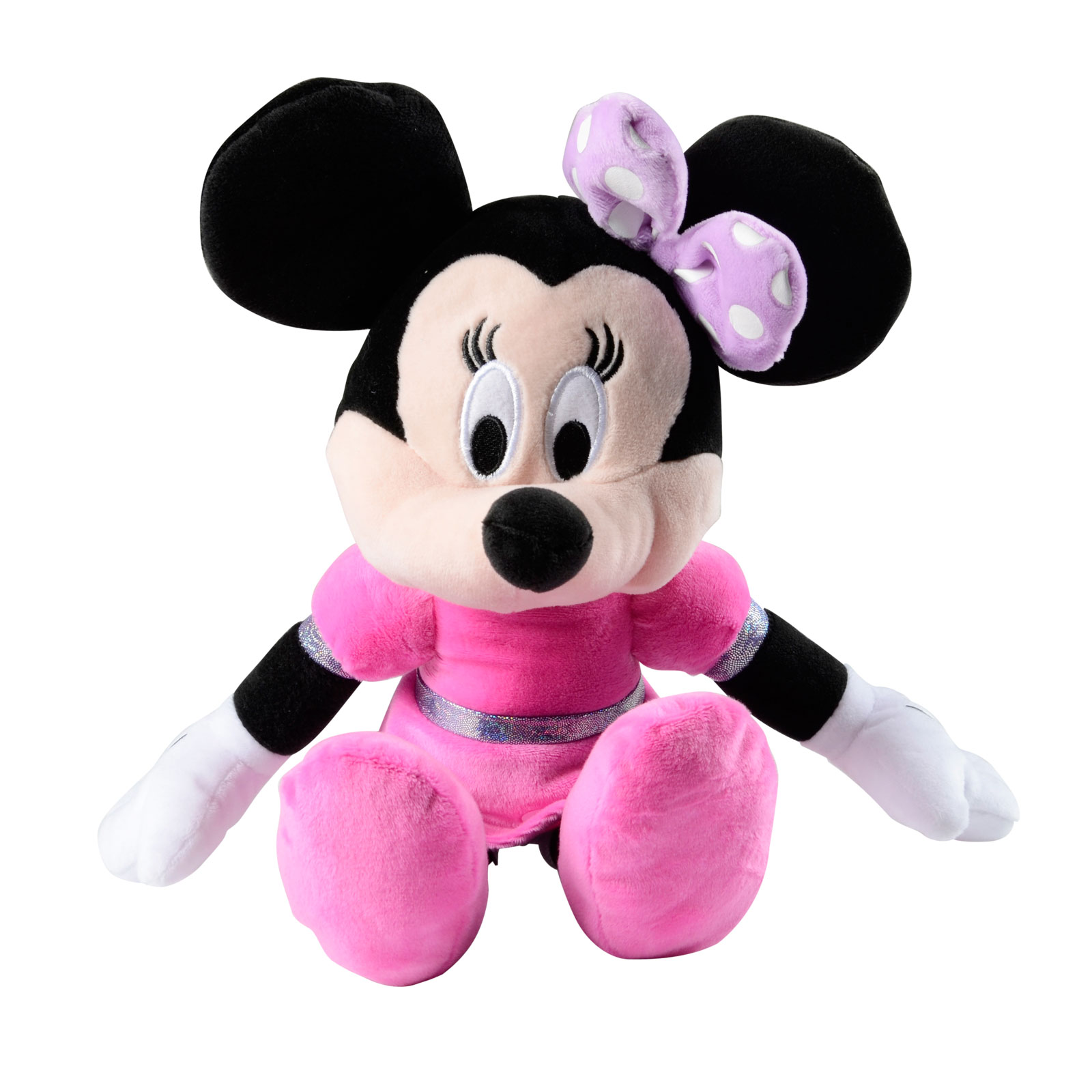 Minnie Mouse Toys : Childrens girls minnie mouse boutique in pink dress soft