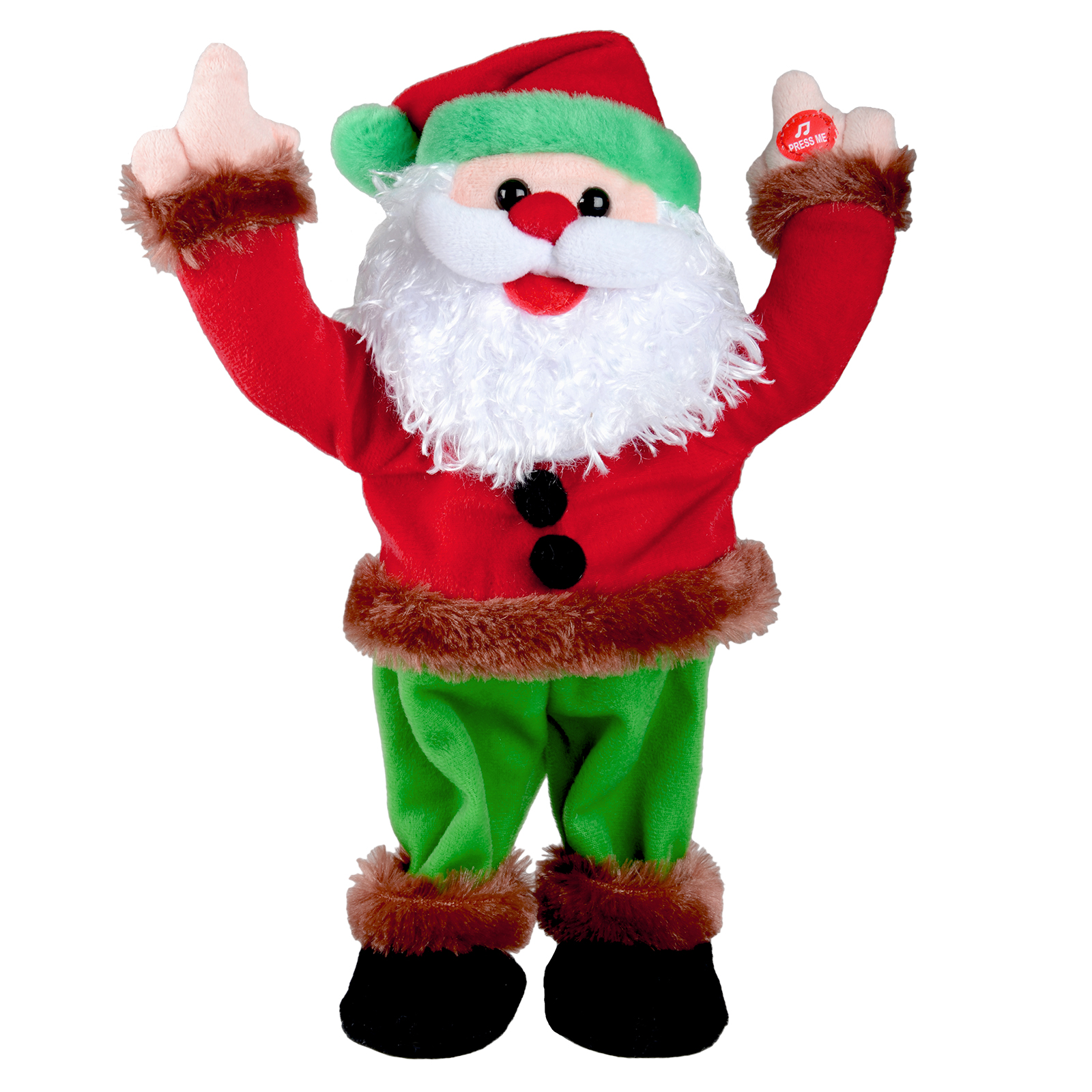 Animated musical dancing moving christmas xmas decoration for Animated christmas decoration