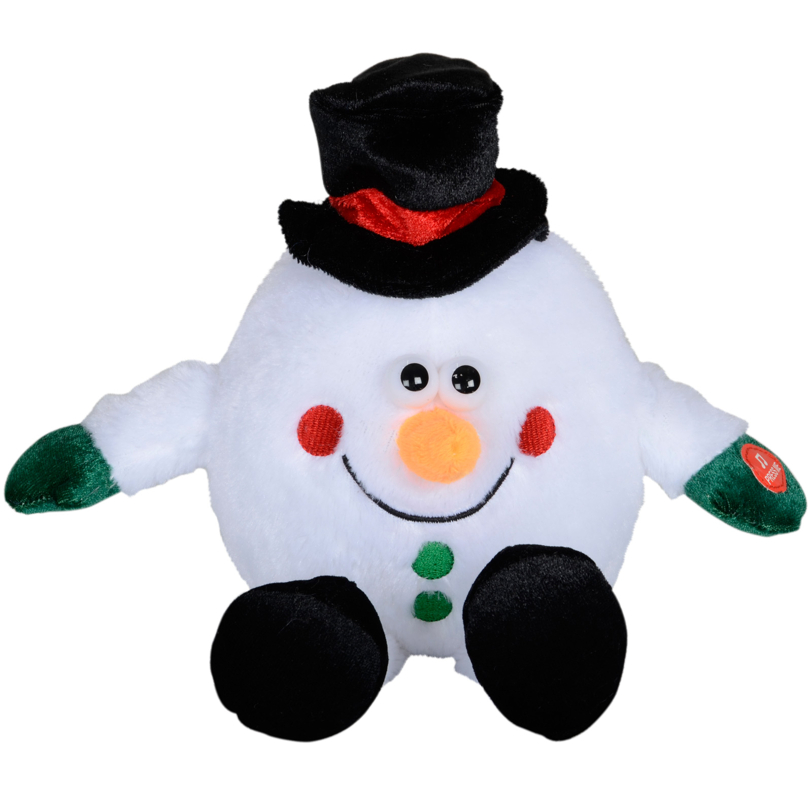 Animated musical dancing moving christmas xmas decoration for Animated snowman decoration