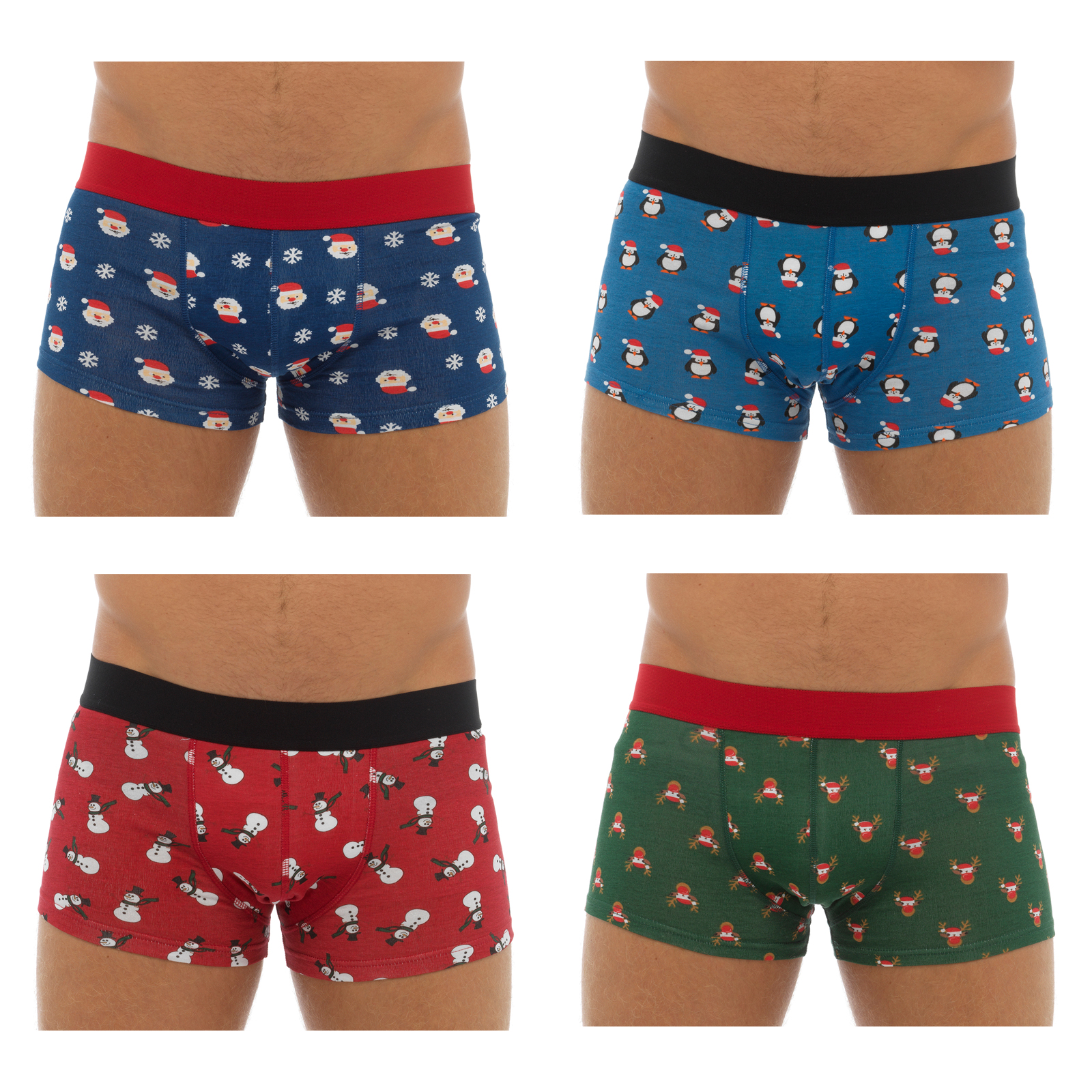 ... Novelty Cotton Stretch Christmas Boxers Underwear Secret Santa Gift