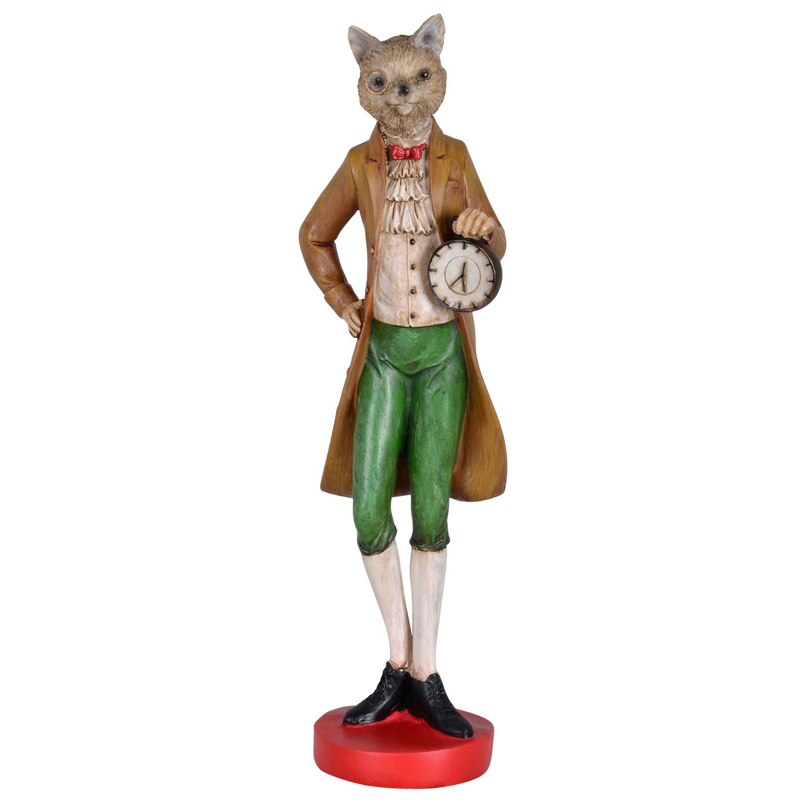 Novelty ornaments - Mr Animal Novelty Ornaments Victorian Statue Figure 43