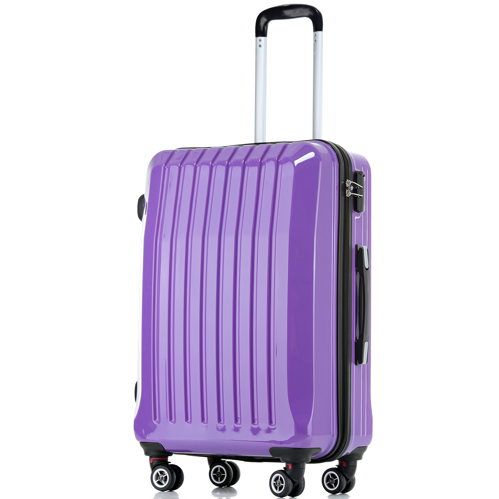 JAM Tourer Hard ABS Case Trolley Luggage Lightweight Baggage ...