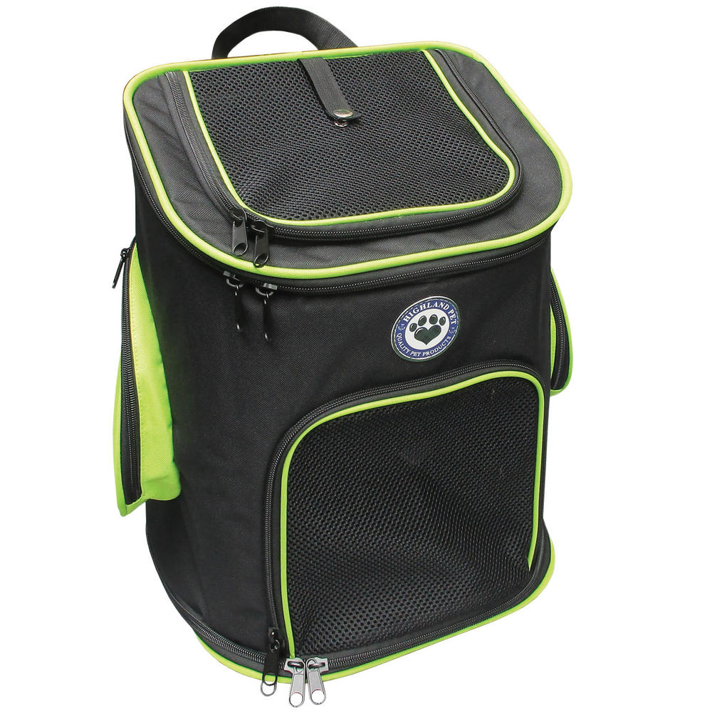 Pet carrier backpack premium travel carry bag preview