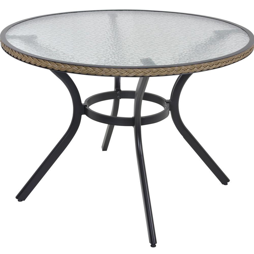 Havana Rattan Dining 4 Seat Garden Furniture Table Chairs Set