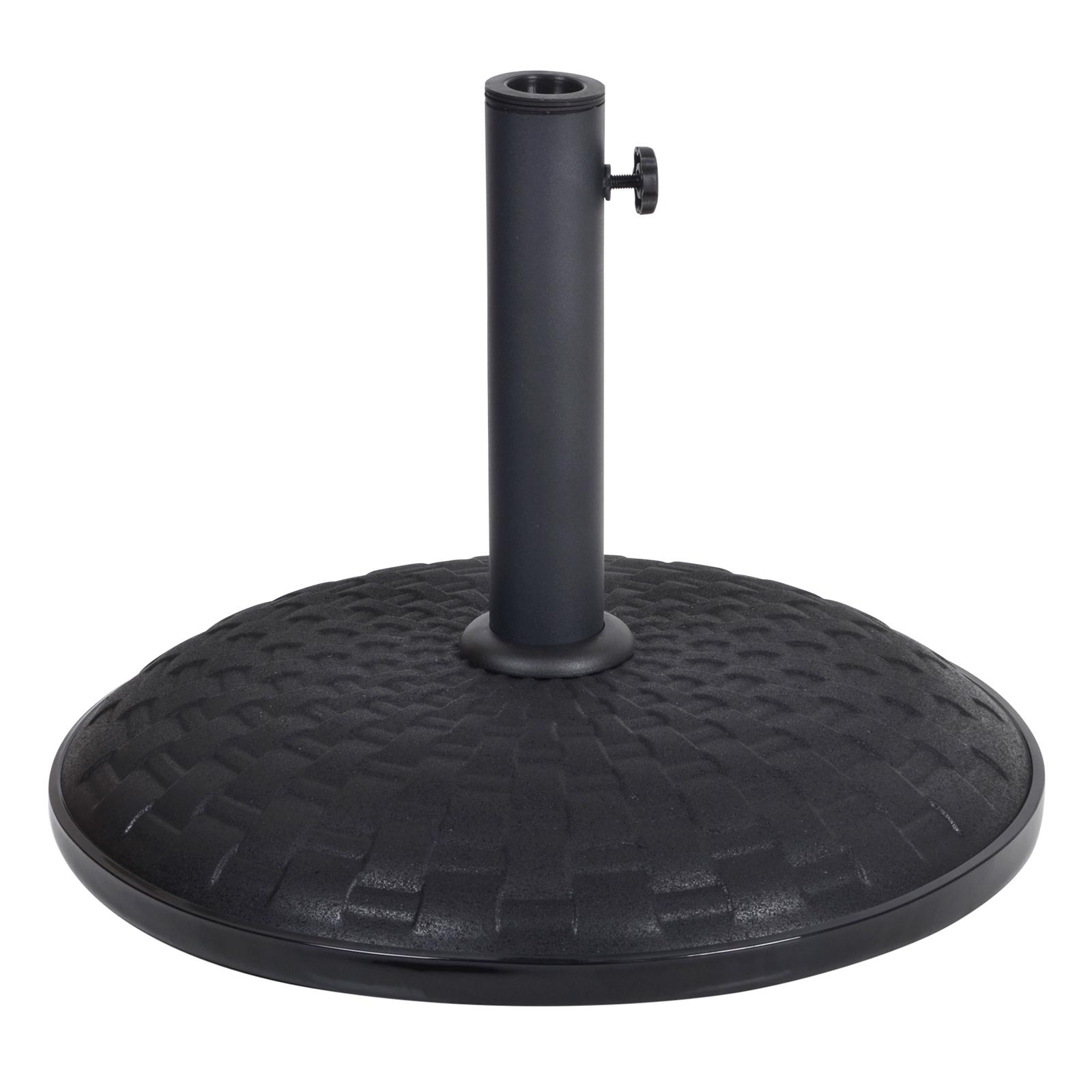 15kg / 25kg Concrete Garden Parasol Base Round Outdoor