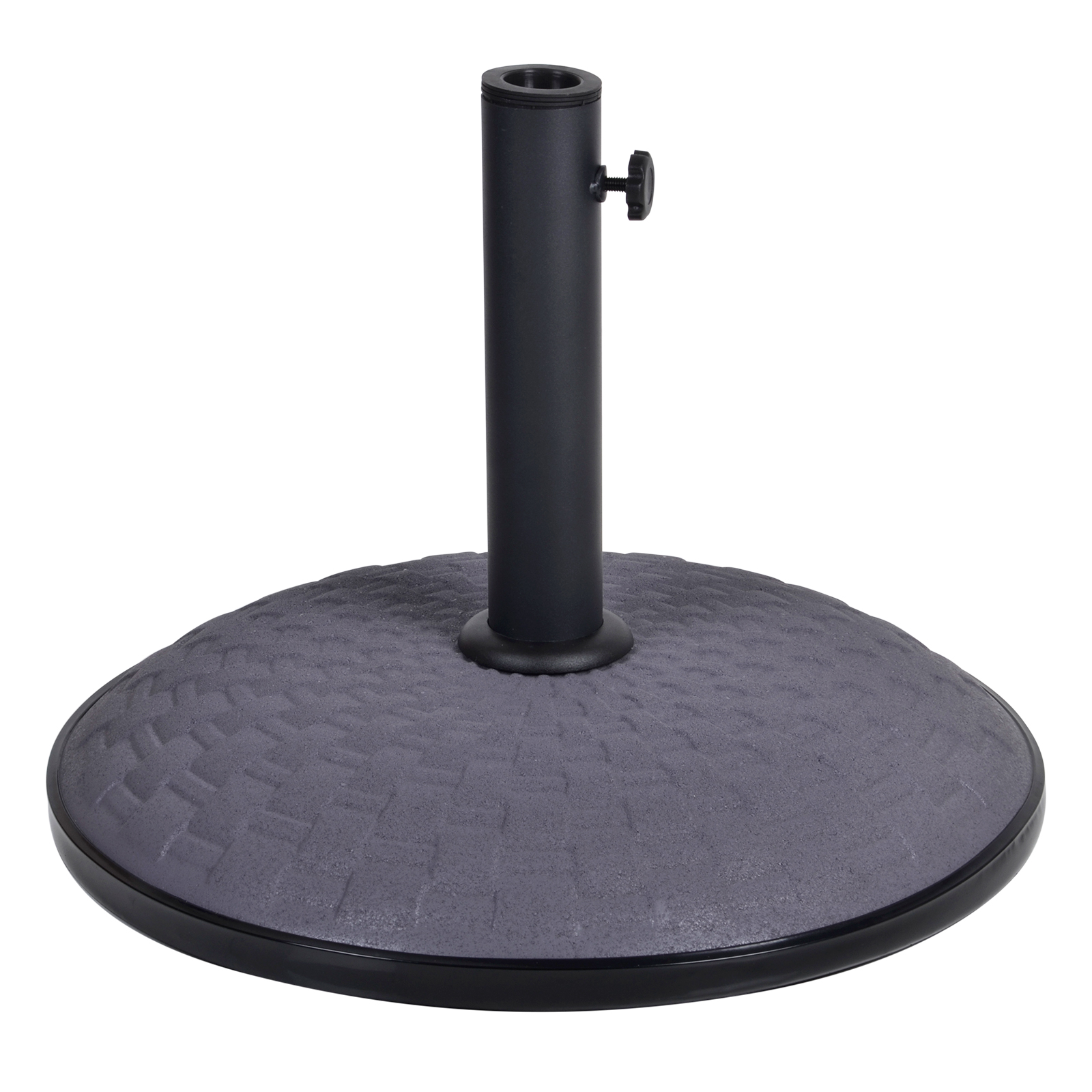 Umbrella Stand For Garden: 15kg / 25kg Concrete Garden Parasol Base Round Outdoor