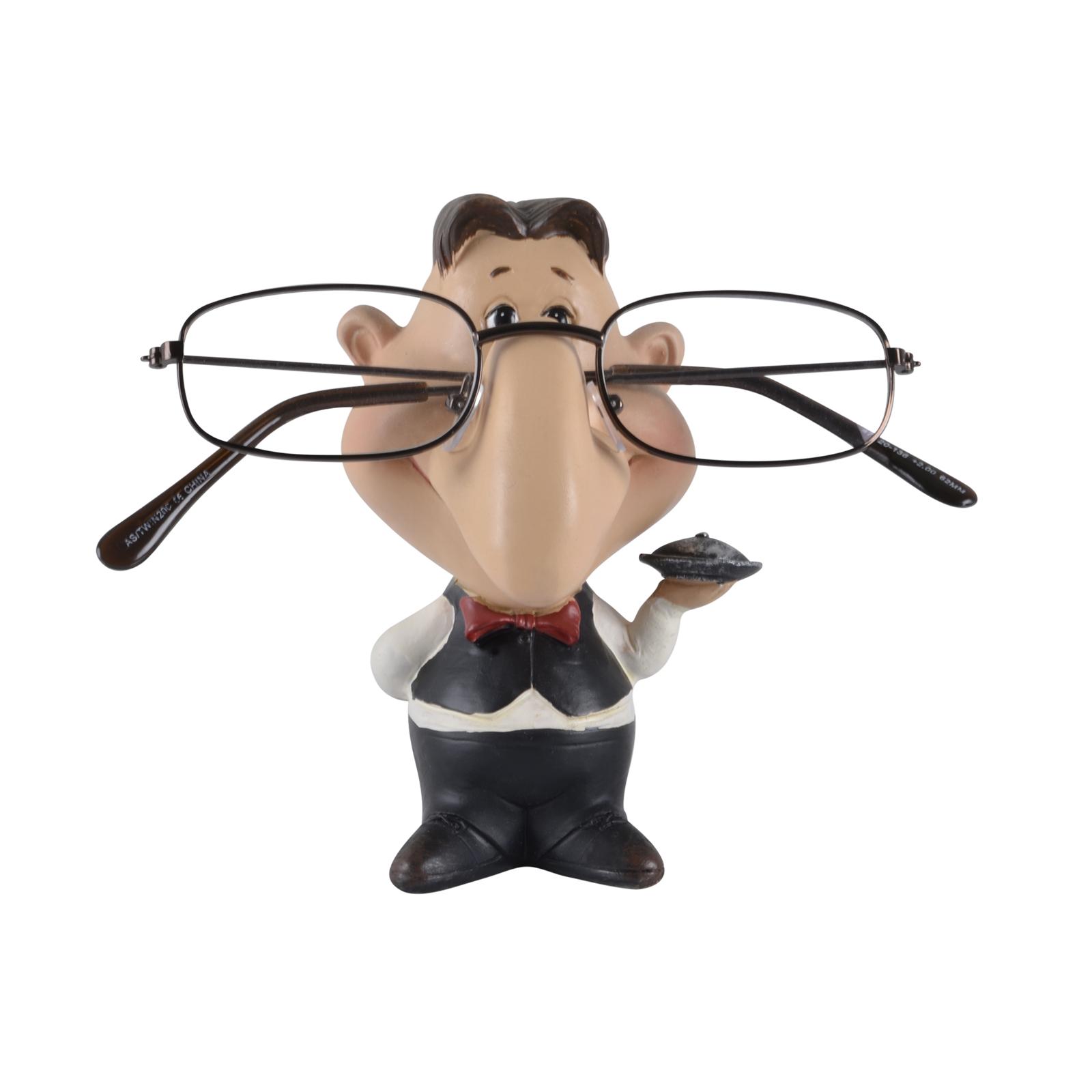 novelty reading glasses holder figure gift ornament