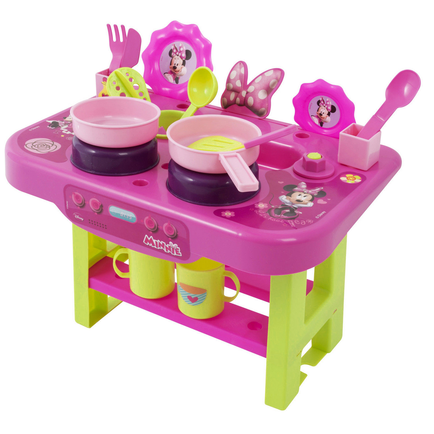 my kitchen disney minnie mouse play set hob cooker