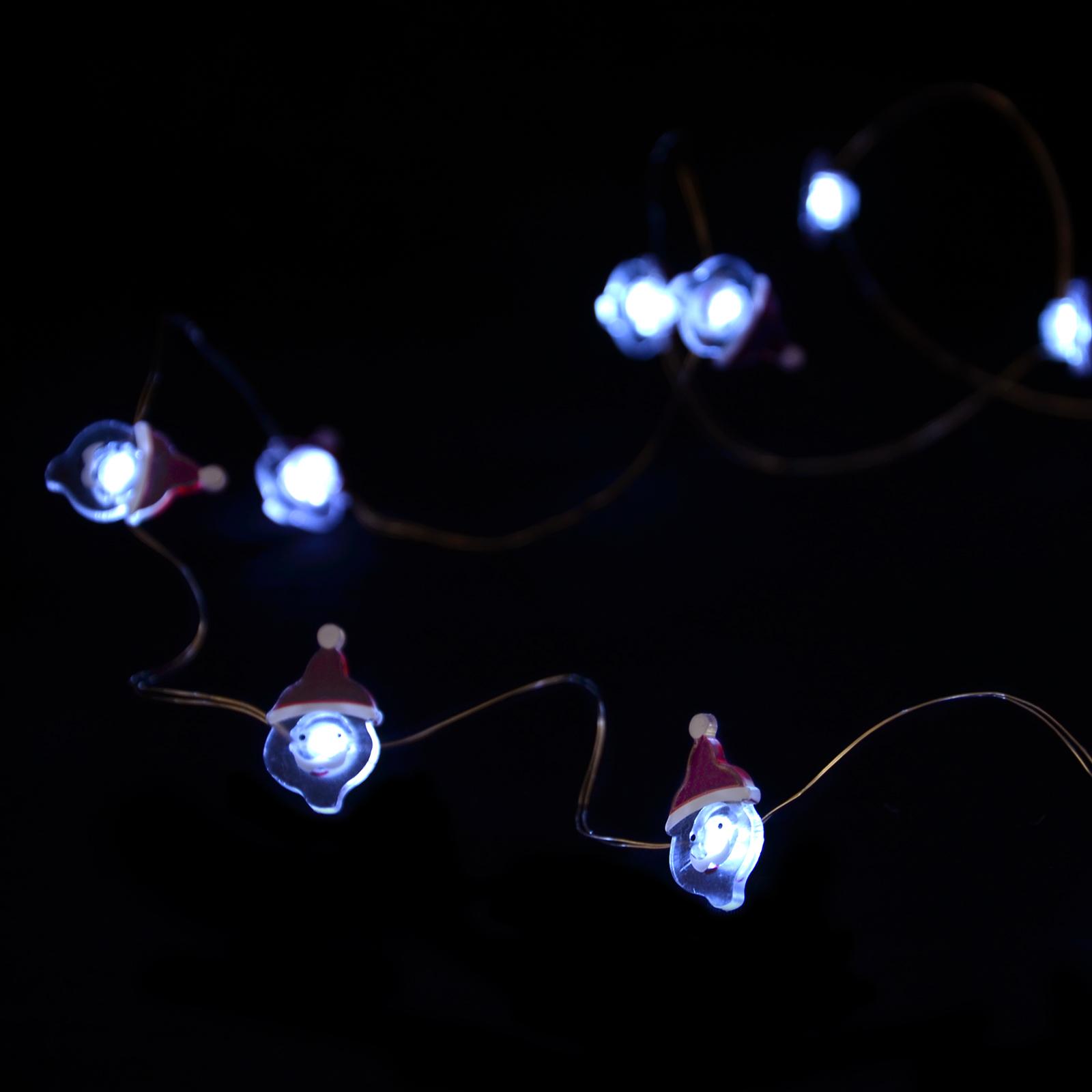 Battery 20 Bright LED Micro String Lights Christmas Tree ...