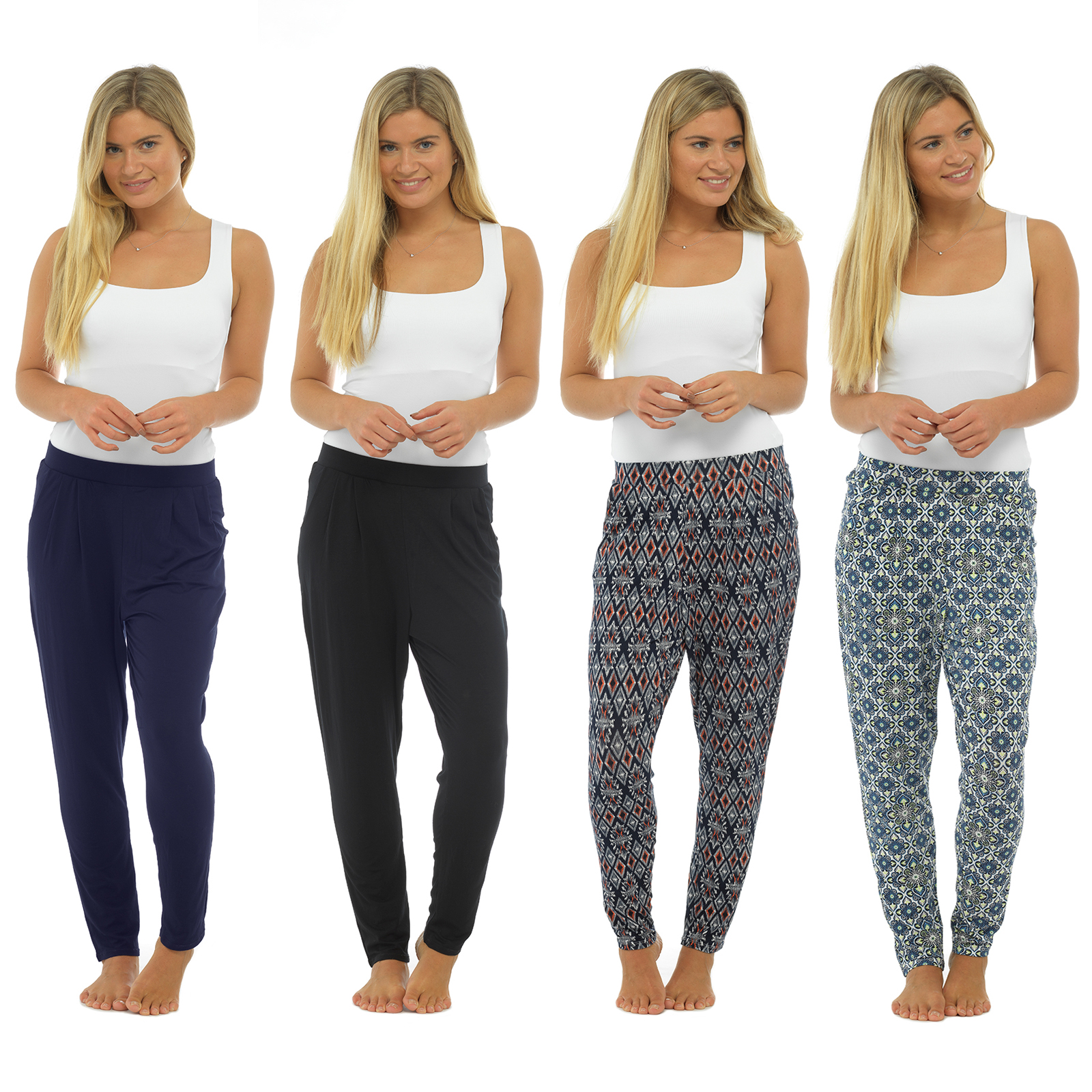 New Womens Alibaba Harem Lot Trousers Ladies Ali Baba Baggy Long Pants