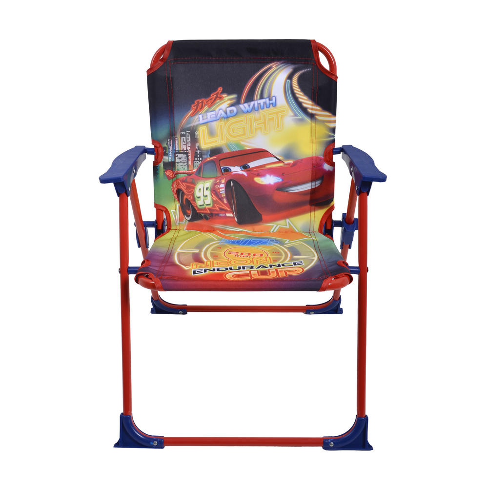 Cars Kids Garden Furniture Set Folding Chairs Table