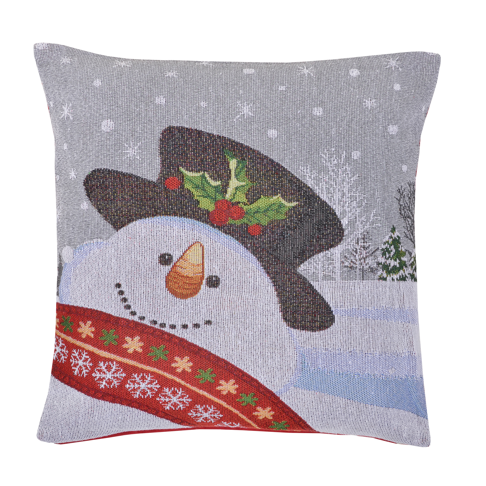Christmas cushion cover pillow case square 45 x 45cm for Sofa bed for xmas