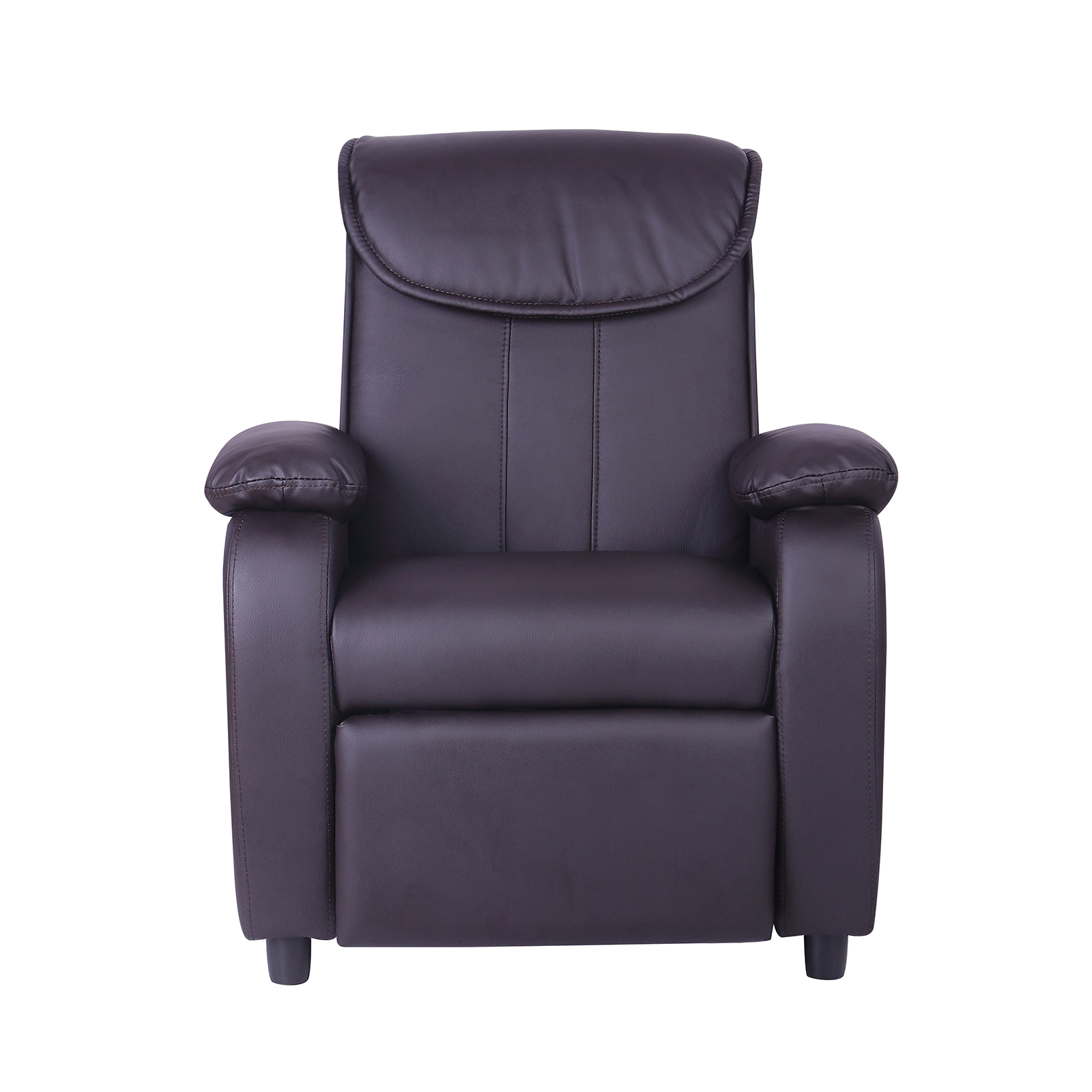 Kids Childrens Faux Leather Padded Reclining Recliner